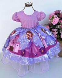 Título do anúncio: Vestido Infantil temático #678