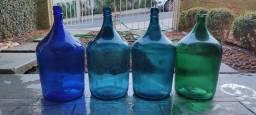 Garrafões de vidro 5 L antigo (raridade)