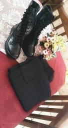 Kit militar coturno+calça