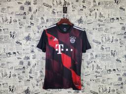 Camisa Bayern de Munique Uniforme III Temporada 2020 2021