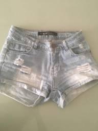 Short jeans marca da Riachuelo