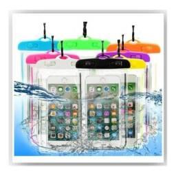 Título do anúncio: Capinha impermeável para celulares e acessórios