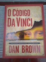 Livro - O Código Da Vince, de Dan Brown, Edição Especial Ilustrada