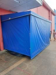 Toldo lona azul 3x4mt