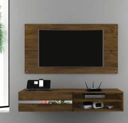 """Título do anúncio: Painel Combo Sorrento Glass 1,35m para TV até 50"""""""