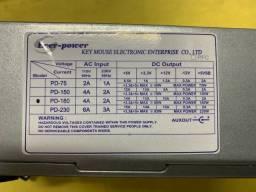 Fonte compacta PD-180 Gabinete Mini ATX