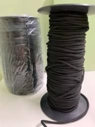 Cordão preto para confecção