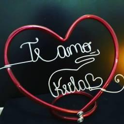#LanzeDomomento# Desenho de nomes  no ARAME