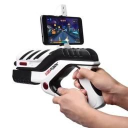 Pistola joystick controle bluetooth para Android jogos de tiro