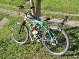Título do anúncio: Vendo bicicleta de motor funcionando perfeitamente