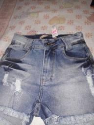 Short jeans R$ 49,99 numeração 36