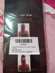 A venda ese apliqui de cabelo cor loiro lizo