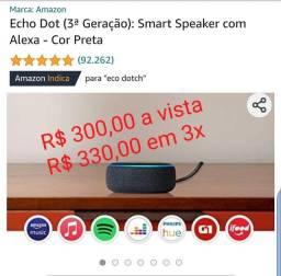 Alexa - Echo Dot (3ª Geração) - Preta