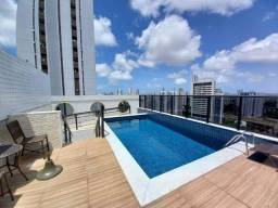 013L - Apartamento tipo flat para alugar, 1 quarto, lazer, em Casa Amarela