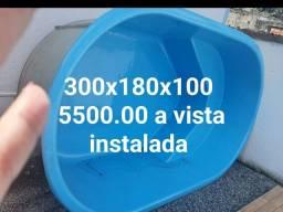 Piscina 300x180x100