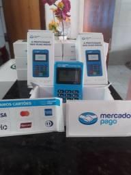 Máquina de passar cartão mercado pago chip