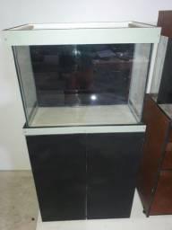 Vendo aquário sexto vidro