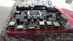 Título do anúncio: Placas mãe para LGA1155 Intel Core 2th / 3th i3 / i5 / i7 / Pentium / Celeron