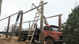 Caminhão munck mb 1313