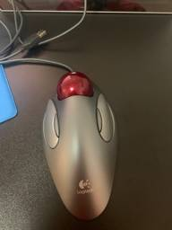 Mouse Track Ball Logitech