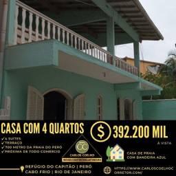 Título do anúncio: Gf  Espetacular casa no Peró em Cabo Frio/RJ.