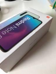 Xiaomi Redmi Note 8 Branco ( com carregador+ película de vidro)