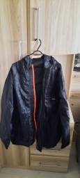 Conjunto casaco e calça  impermeável  motociclista