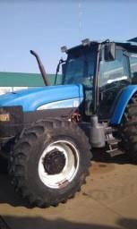 Título do anúncio: Trator Agrícola New Holland T180 Ano 2008