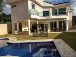 Excelente casa á venda na Reserva Santa Maria, Jandira. Com 5 dorms, piscina e gourmet!