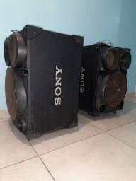Par de caixa acústica Sony SS-SH2000