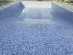 Clube com piscina