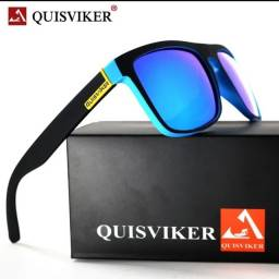 Óculos QuisViker preto lente polarizadas