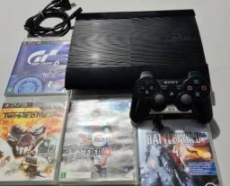 Playstation 3 super slim 500gb com garantia