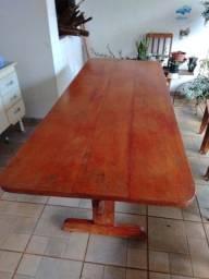 Título do anúncio: Mesa de madeira maciça 10 lugares