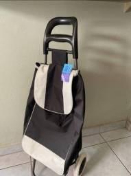 Título do anúncio: Carrinho De Compras Leva Tudo Bag To Go Preto NOVO