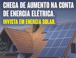Título do anúncio: Adiquira seu sistema de energia solar e produza energia elétrica