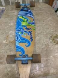 Título do anúncio: Skate longboard profissional em perfeito estado.