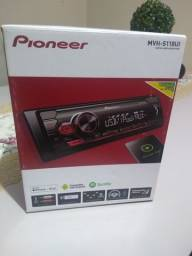 Som automotivo Pioneer Mvh-s118ui novo
