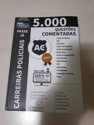 5.000 questões comentadas Alfacon