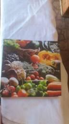 Livro culinária sabor e saude