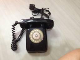 Telefone de disco antigo - Anos 60