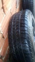 Rodas e pneus 14 em andira
