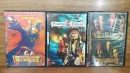 Coletânea DVDs Piratas do Caribe 1, 2, 3 e 4