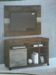 Promocao conjunto painel e rack incluso suporte tv (novo)caixa 350,00 no dinheiro