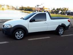 Fiat/Strada Hard Working 1.4 Fire Flex 8v CS Completa - 2017