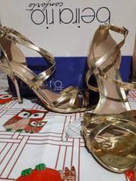Sapato de salto Beira Rio