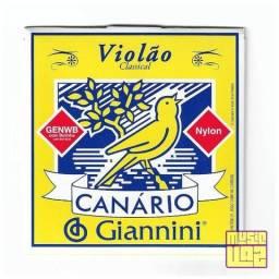 Encordoamento Violão Nylon Canário Giannini