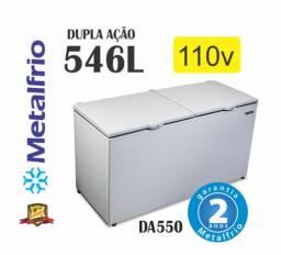 Freezer 2 Tampas Da550 Metalfrio