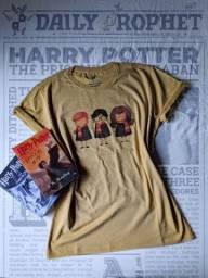 Camisa Trio de Hogwarts