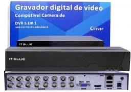 Dvr It-Blue 5Wp 1080P Full Hd 16 Canais It-Blue